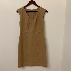 Ann Taylor Camel-Colored Dress, Size 2